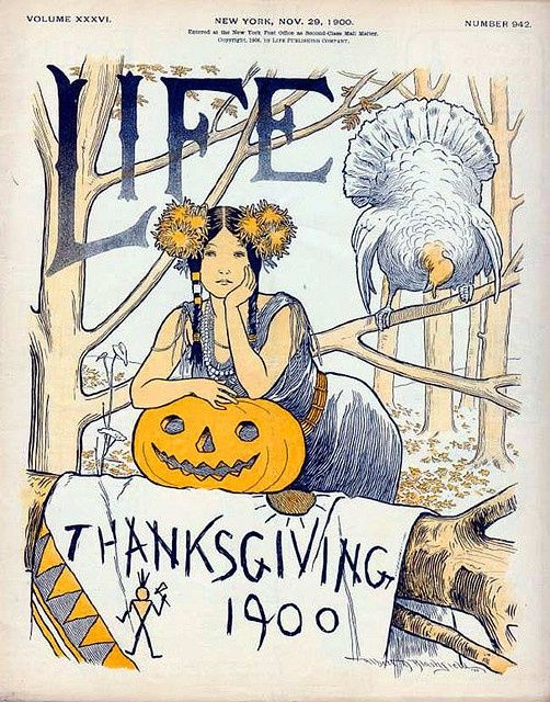 1900 Life magazine cover.