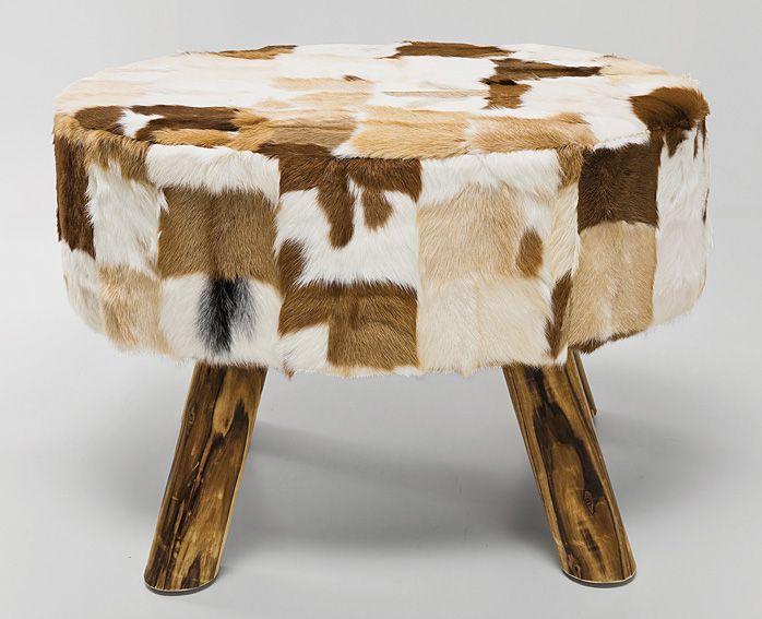 Taburete Flint Stone Material: Madera de Abeto Mueble realizado en y ...