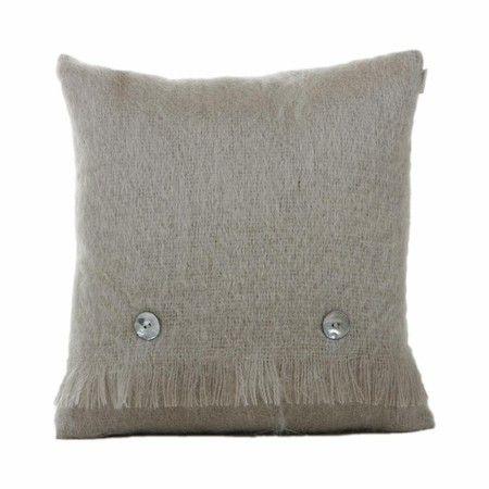 Large Mohair Cushion Squirrel Grey From Bronte Cushion Design Luxury Cushions Cushions
