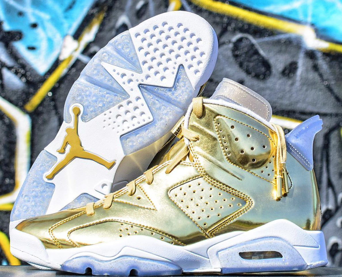 hot sales 1cb20 ddc31 Look For A Gold Air Jordan 6 Pinnacle To Release This ...