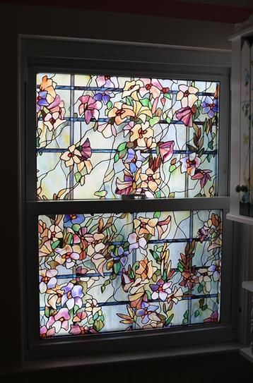 Trellis Decorative Window Film 01 0149 At The Home Depot Mobile