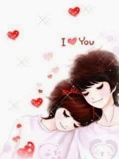 Cartoon Korean Couple Anime Korea Love Cartoon Couple Anime Love Couple
