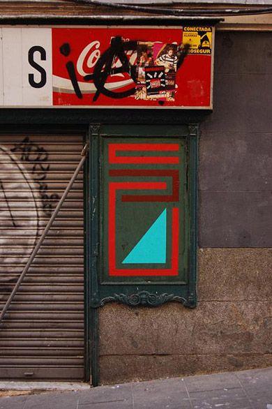Nuria + El Tono, Madrid - unurth | street art