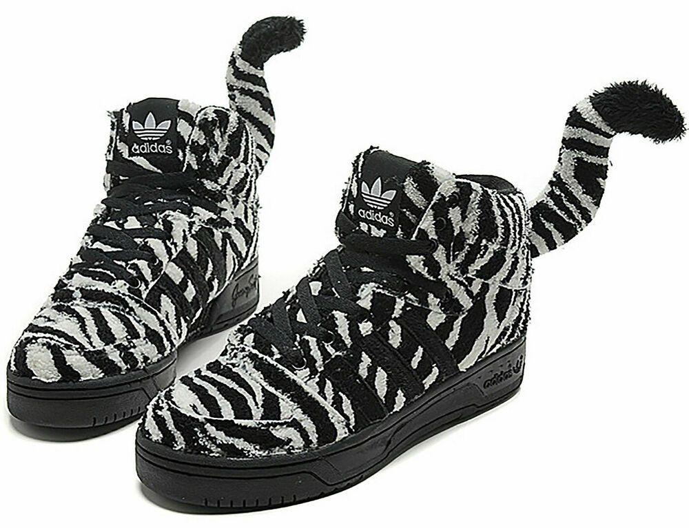 Jeremy Scott X Adidas Originals Zebra