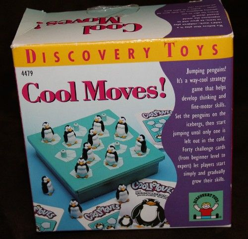 2000 Discovery Toys COOL MOVES! Penguin Peg Jumping ...