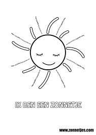 afbeeldingsresultaat voor zonnetje tekening de juffrouw