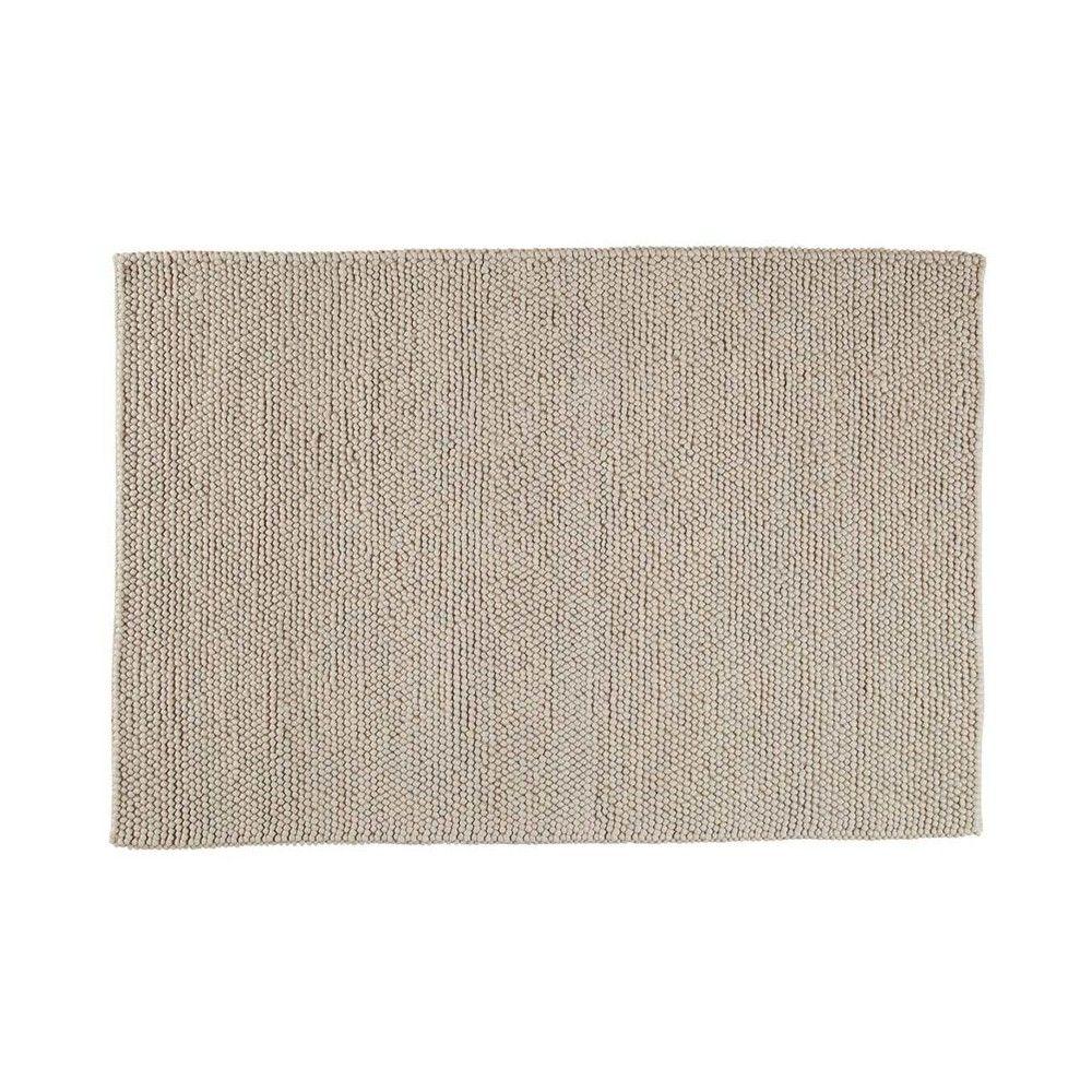 Tappeto beige in lana 200 x 300 cm Tapis laine, Tapis