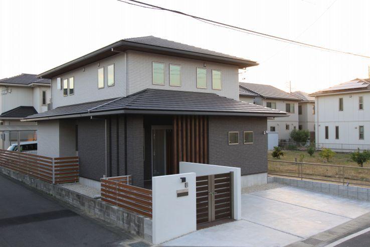 外観集 シンプルモダン 洋風の家 2020 家 住宅 外観 家 外観