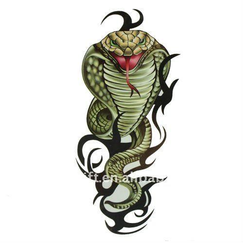 Forasteiro Tattoo Tattoo Serpente: No Tóxico De La Serpiente Etiqueta Engomada Del Tatuaje