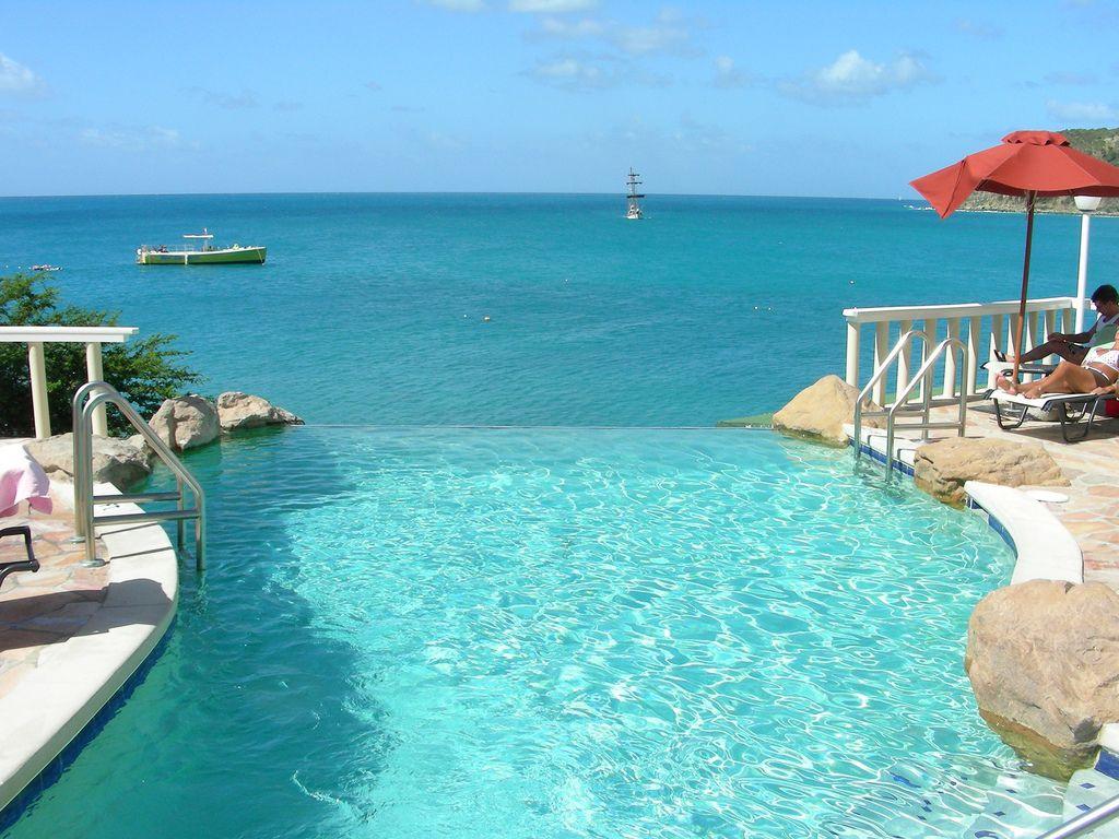 Love This Infinity Pool At Divi Little Bay Beach Resort In St Maarten