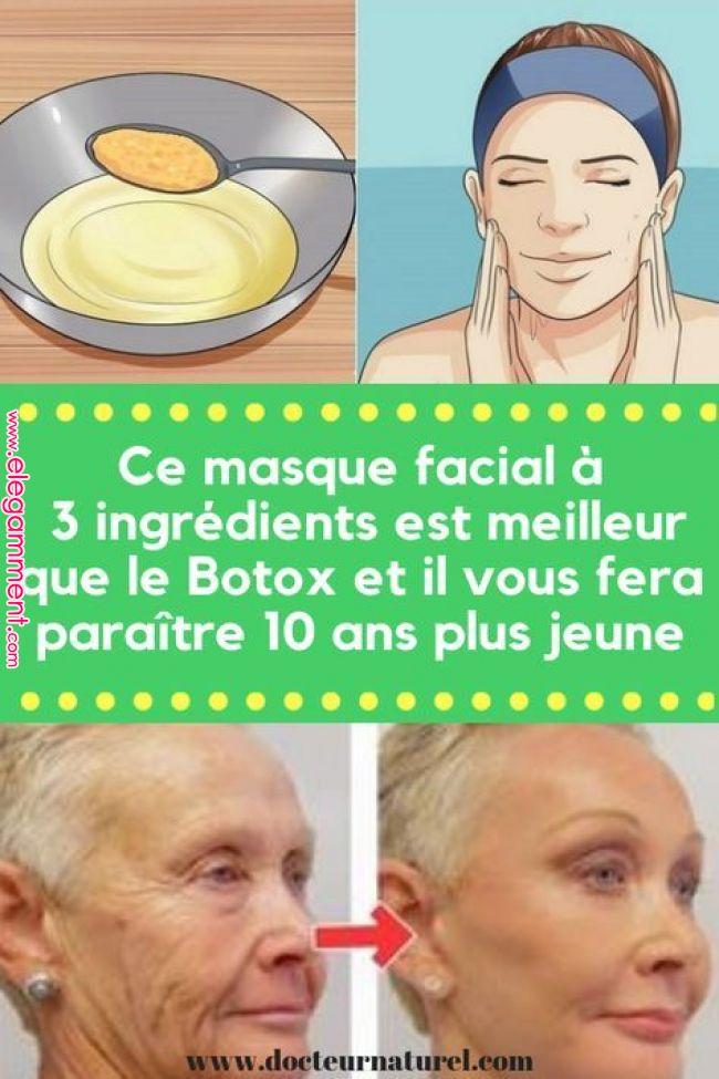 Questa maschera per il viso a 3 ingredienti è migliore di Botox e ti farà sembrare più giovane di 10 anni