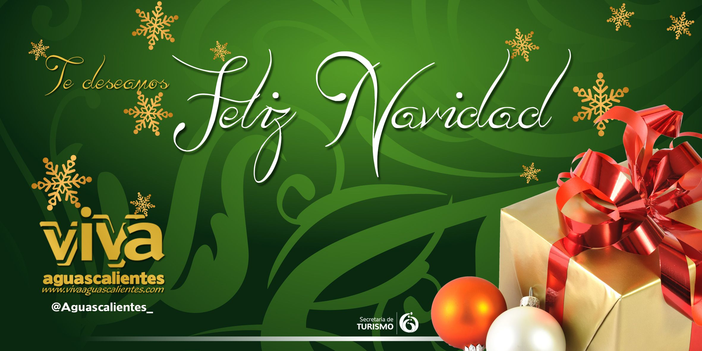 Feliz Navidad Aguascalientes Mexico