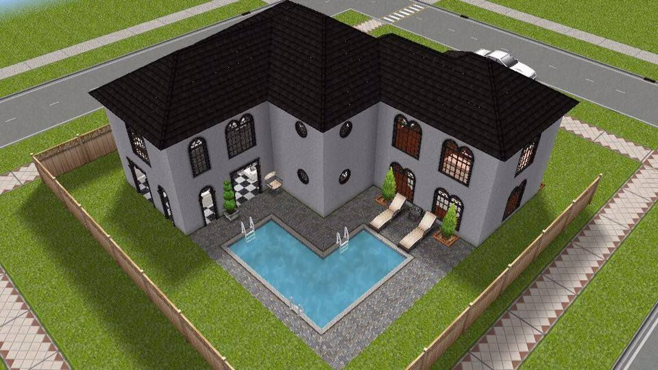 small modern house simsfreeplay thesims beautiful modern