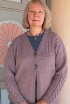 Staghorn Cable Cardigan