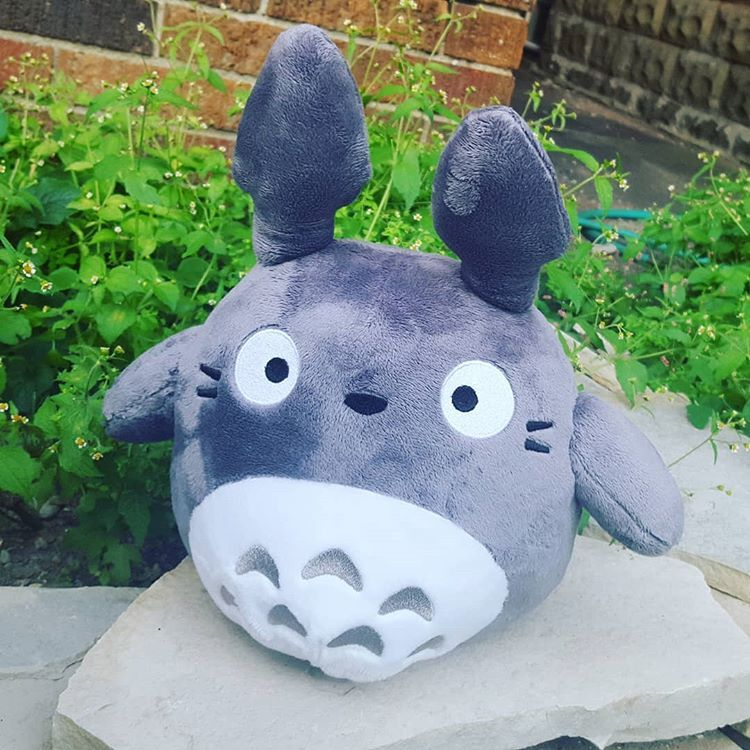 Totoro Plushie by Me <3