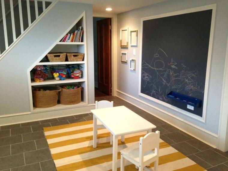 Rangement sous escalier- 97 idées et solutions créatives - sorte de peinture pour maison