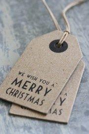 | Cute Christmas tags. |