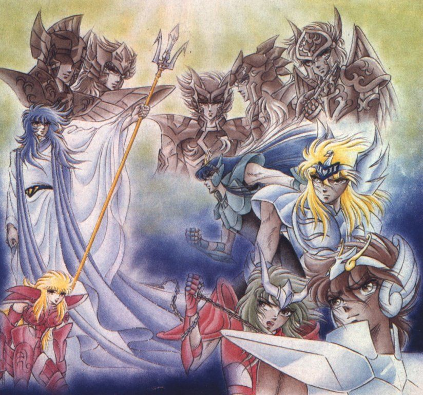 Saint Seiya - Poseidon Saga | Anime | Saint seiya, Anime, Saints