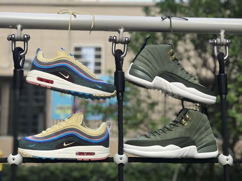 d362b8a18b6 Air Max 1/97 Ssean Wotherspoon & Air Jordan CP3 Class of 2003 Shoes Image