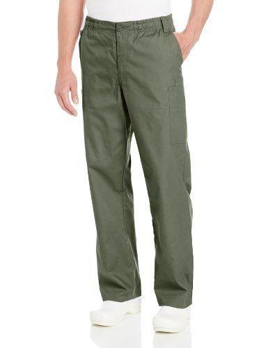 cc192dff0c2 eBay #Sponsored Dickies Men's Zip-Fly Pull-On Scrub Pant (Large|Olive)