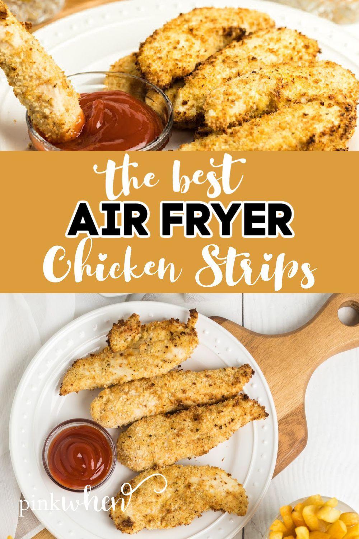 Air fryer chicken strips pinkwhen recipe in 2020 air