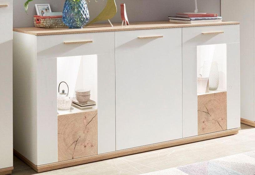 COTTA Sideboard weiß, »Madrid«, pflegeleichte Oberfläche, FSC - sideboard für wohnzimmer