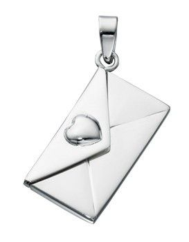 Sterling Silver Letter Locket