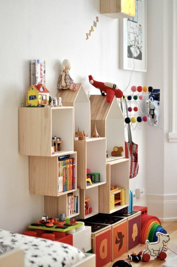 les tagres cubes comme mobiliers pratiques et comme dcoration - Etagere Enfant Deco
