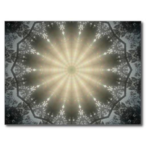 Sun Swirl 1 Post Card