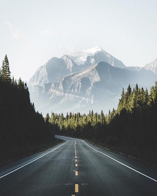 The Canadian Rockies. Photography by @samuelelkins