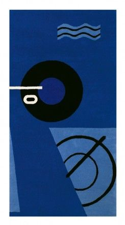tapis blue marine eileen gray 1925 1935 classicon