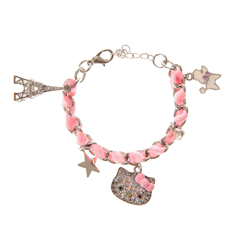 Hello Kitty Paris Charm Bracelet