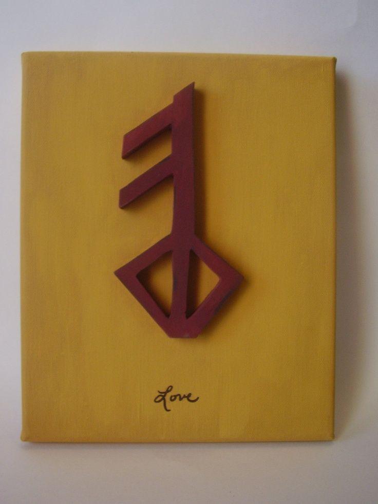 Viking Rune Symbol For Love Google Search Tattoos Pinterest