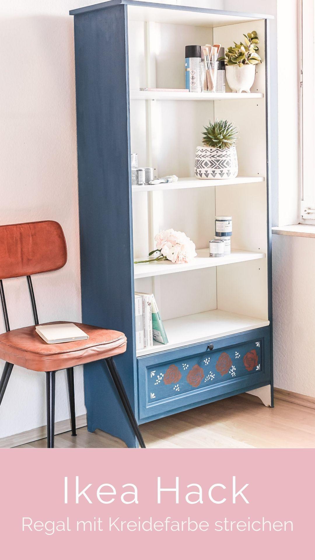 Annie Sloan Farben Im Einsatz Streichen Und Schablonieren Meine Erfahrungen In 2020 Ikea Regal Ikea Diy Regal