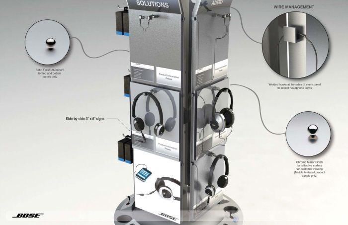 Bose Headphone Stand | Displays |