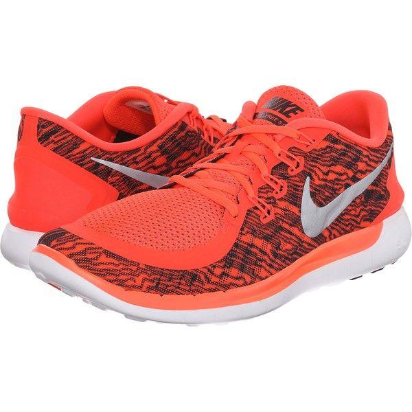 Nike Free 5.0 Print (Bright Crimson/White/Black) Men's Running Shoes (