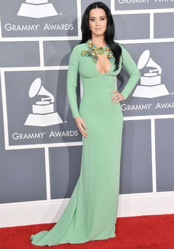 Robe rouge hm katy perry