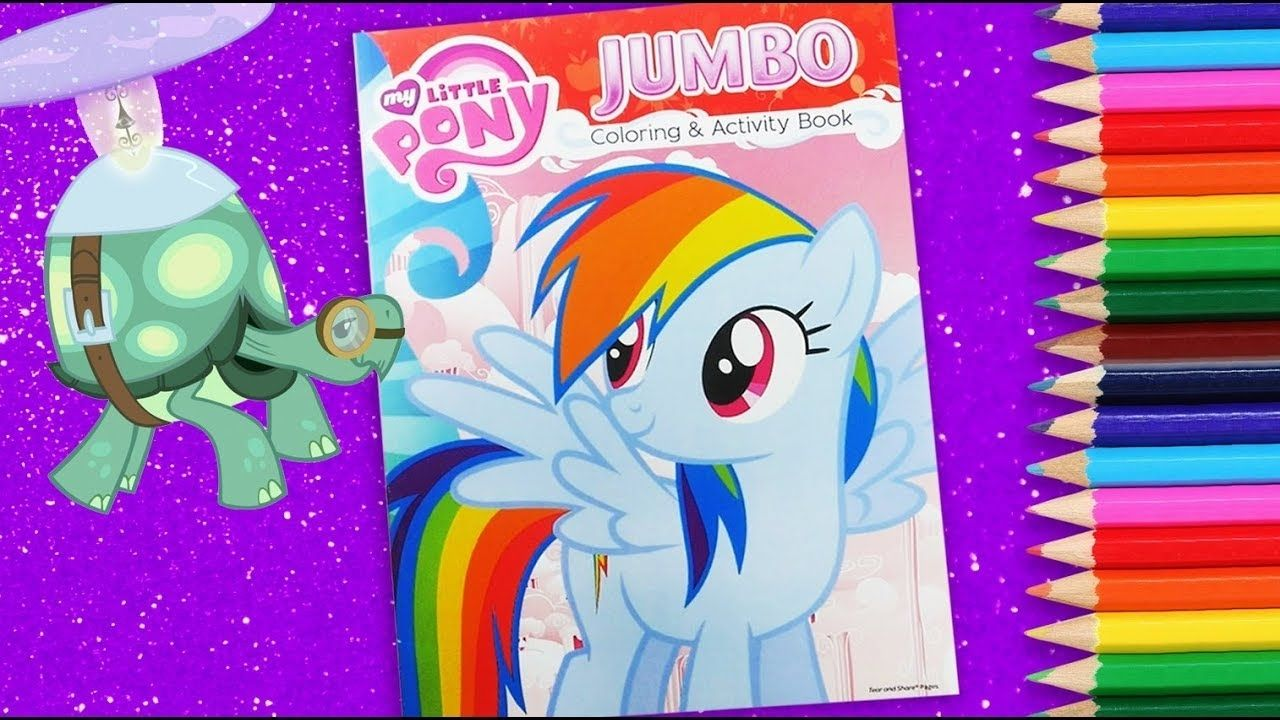 My Little Pony Jumbo Coloring And Activity Book My Little Pony Jumbo Coloring And Activity Book Coloring For Kids Coloring Book Download Book Activities