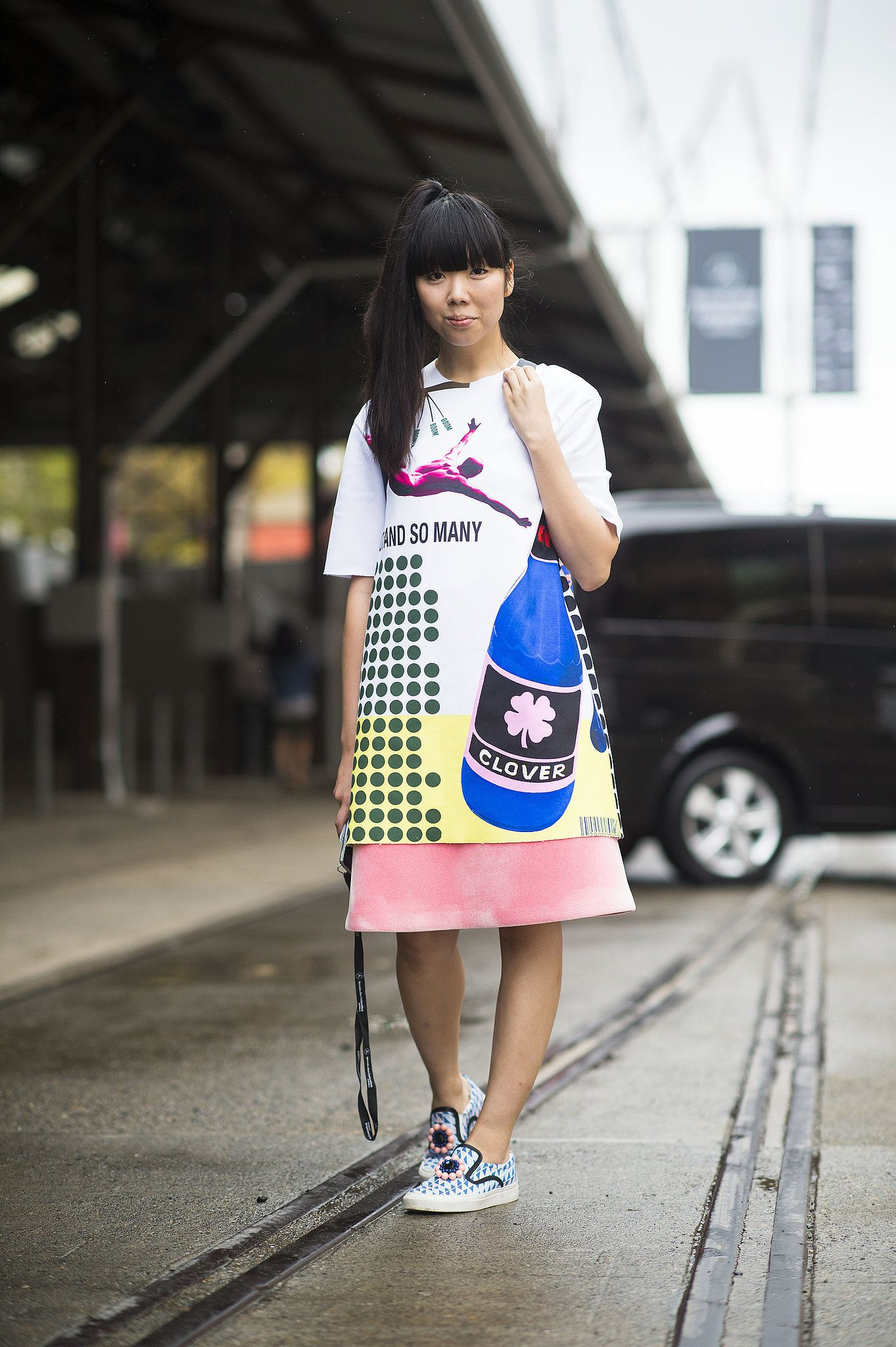 It doesn't get cooler than Susie Bubble's kicks. Sydney Fashion Week #StreetStyle                                                                                                1 / 51