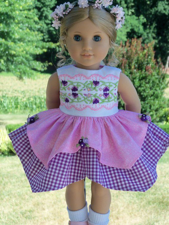 PDF SEWING PATTERN / Fits Like American Girl Doll Clothes / Swan ...