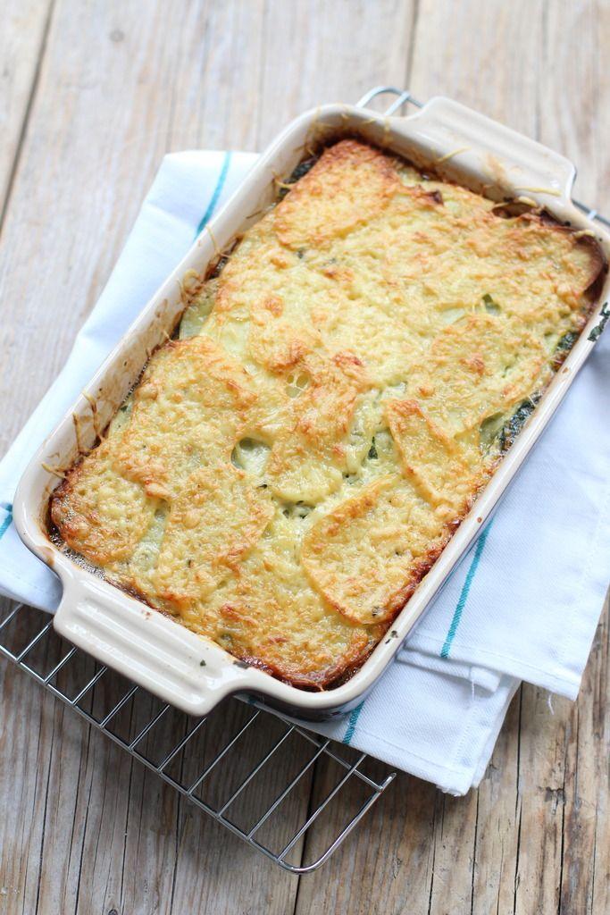 Ovenschotel met gehakt en spinazie - Lekker en Simpel