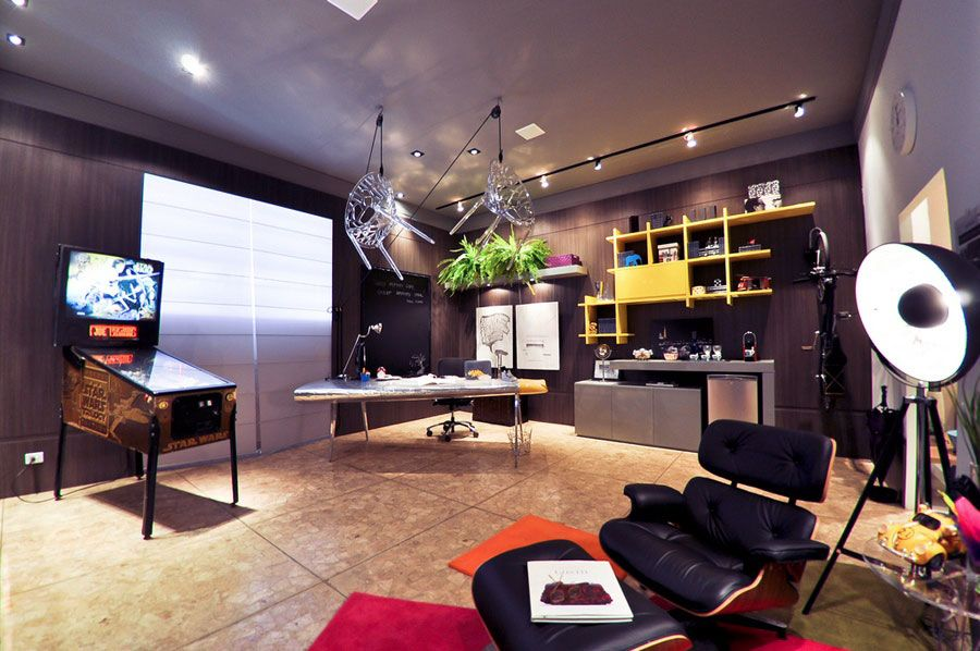 I Would Work Here Living Room Decor Pinterest Game Rooms Rhpinterest: Awesome Home Decor At Home Improvement Advice