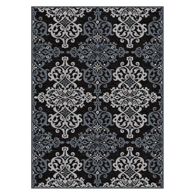 Tayse Cambridge CBR17 Indoor Area Rug Charcoal - CBR1718 8X10