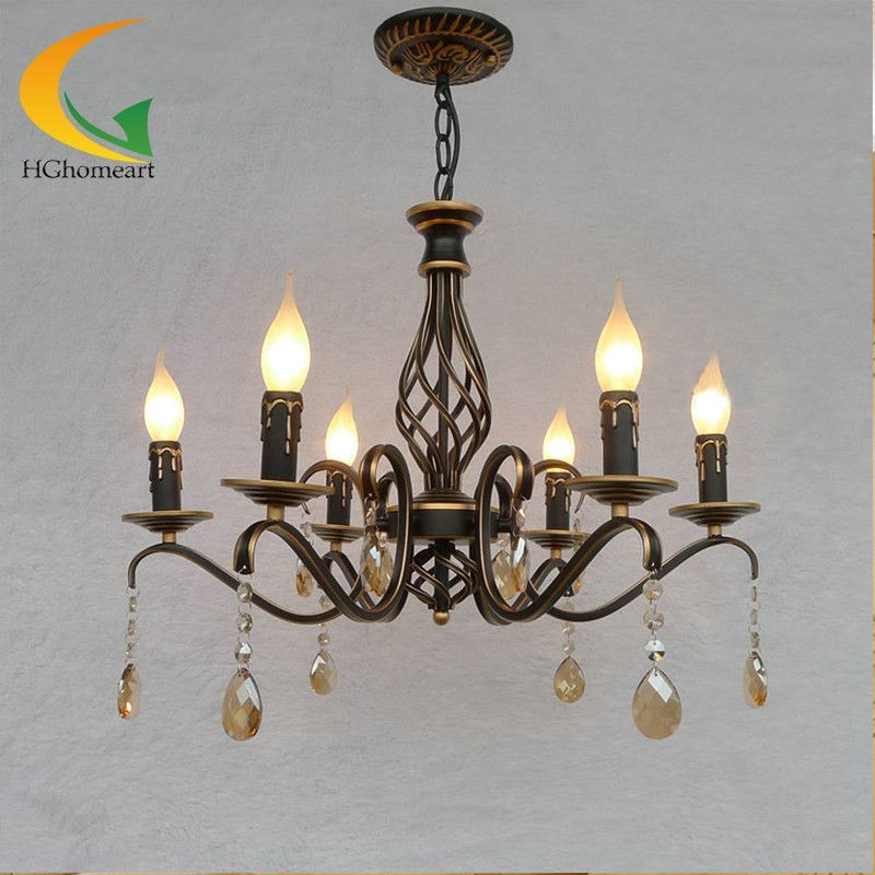 Buy retro chandelier continental iron candle chandeliers bedroom buy retro chandelier continental iron candle chandeliers bedroom chandelier led restaurant wrought iron chandelier ceiling 25313 icon2 aloadofball Images
