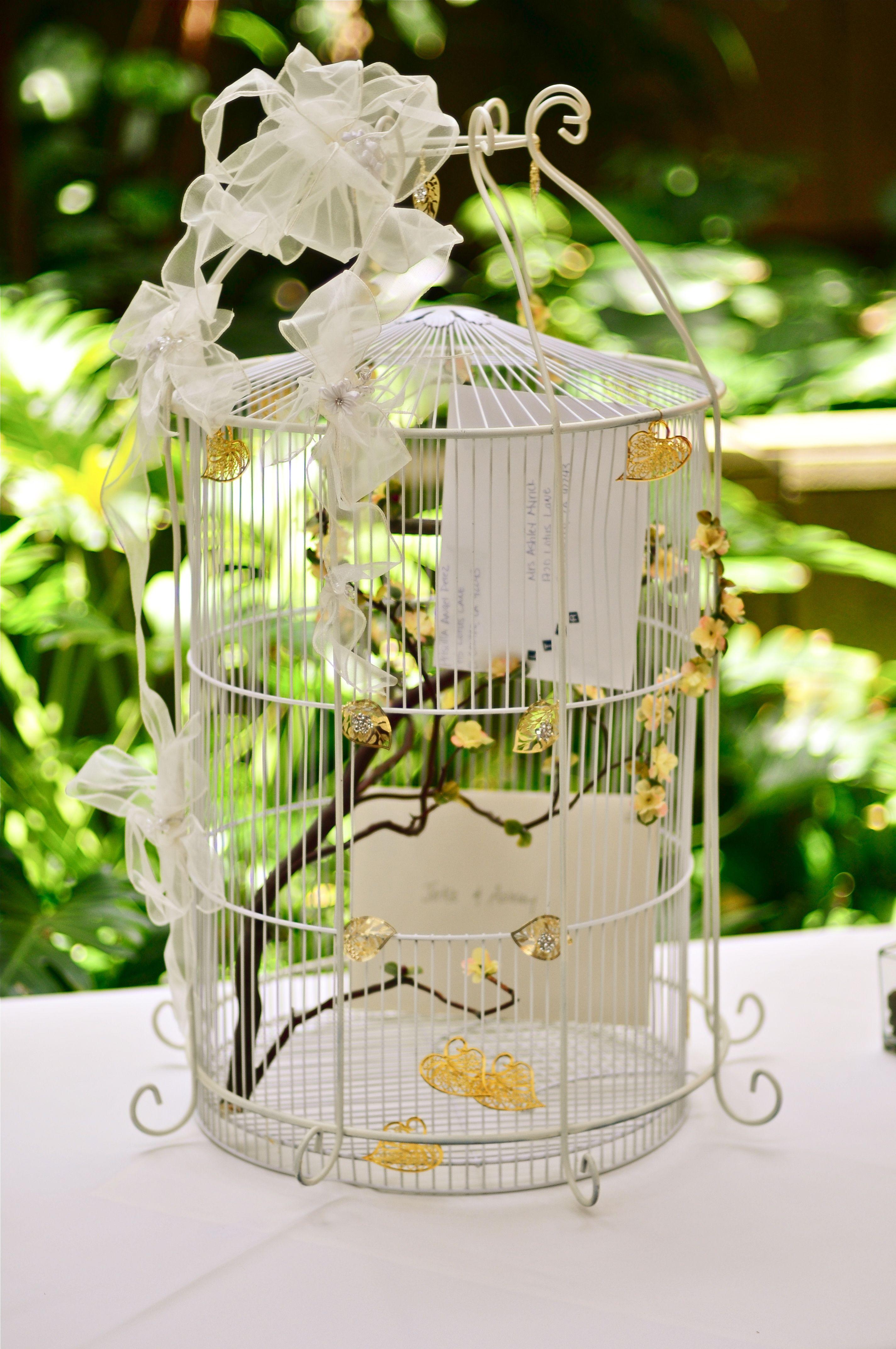 decorating bird cages