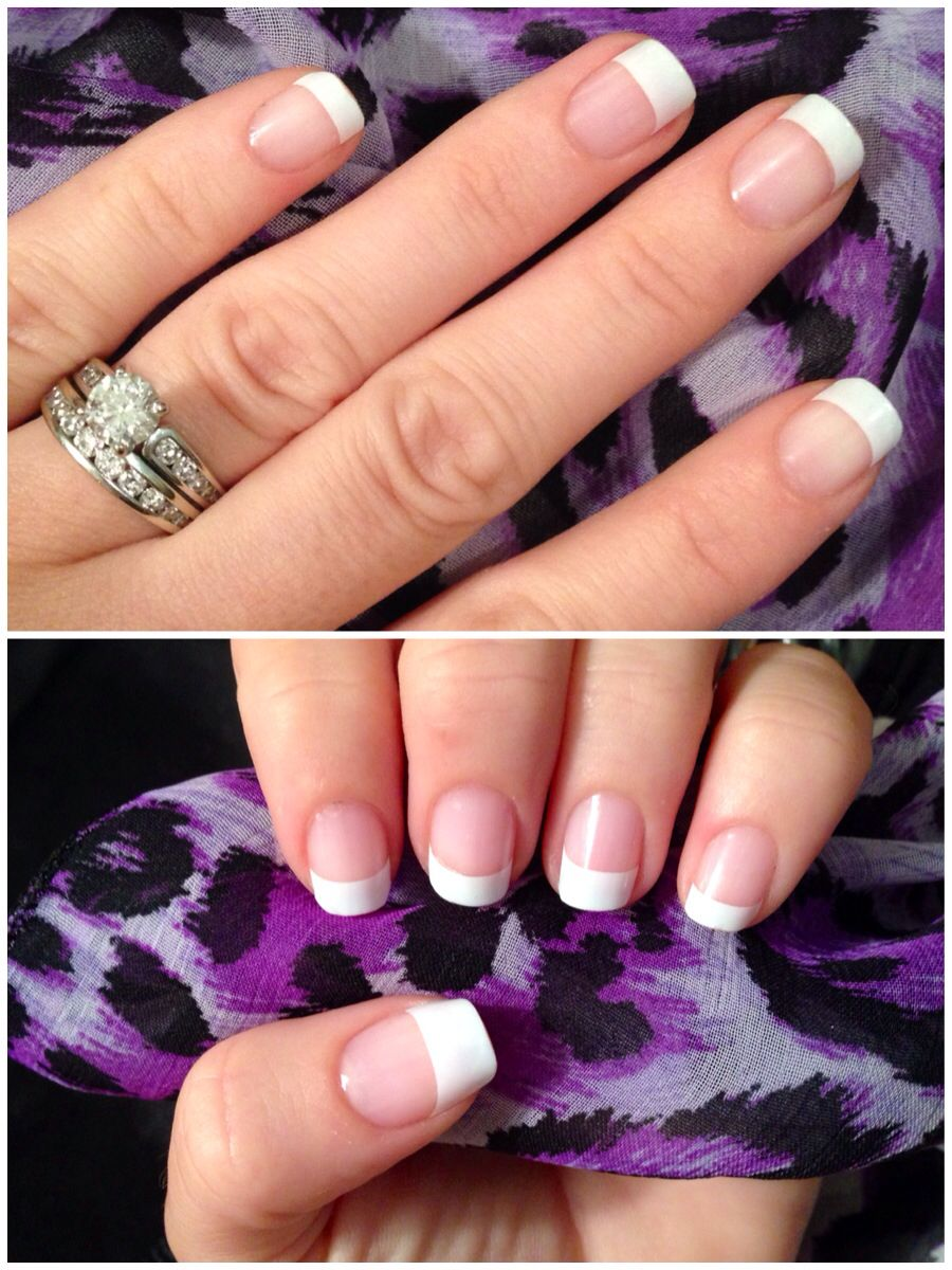 My new fav... French manicure jamberry nail wraps!! Love! White tip ...