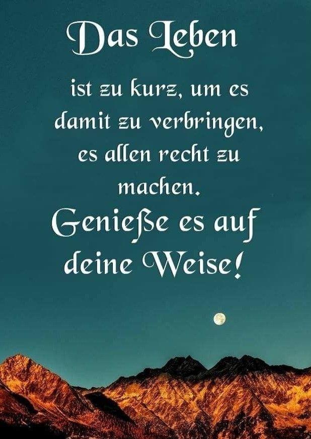Auf Unsere Weise Spruche Fur Geburtstag Geburtstag Gedicht Lebensweisheiten Goethe Lyrische Zitate