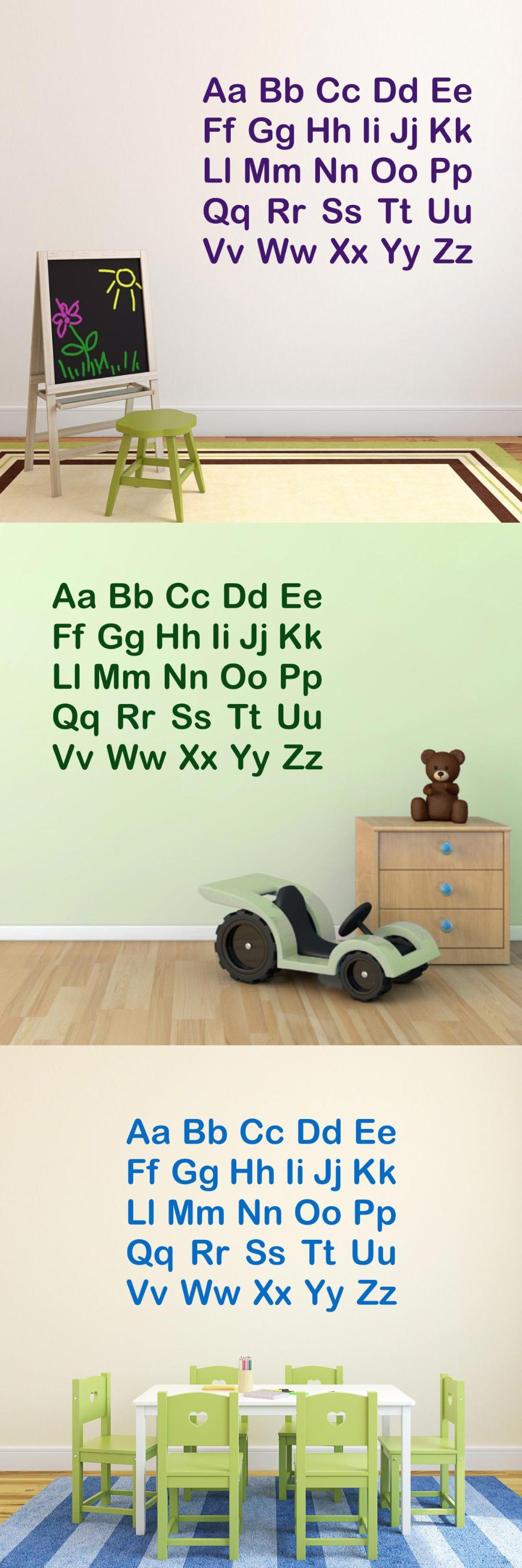 Buy Letters For Wall Visit To Buy Alphabet Letters Wall Stickers For Kids Room Nurdery
