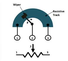 10k Potentiometer Pinout Working Datasheet Explained Presets Power Rating Sensor