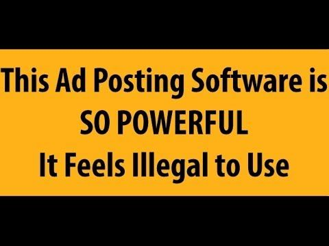 Craigslist Software - Craigslist Auto Posting Software Review